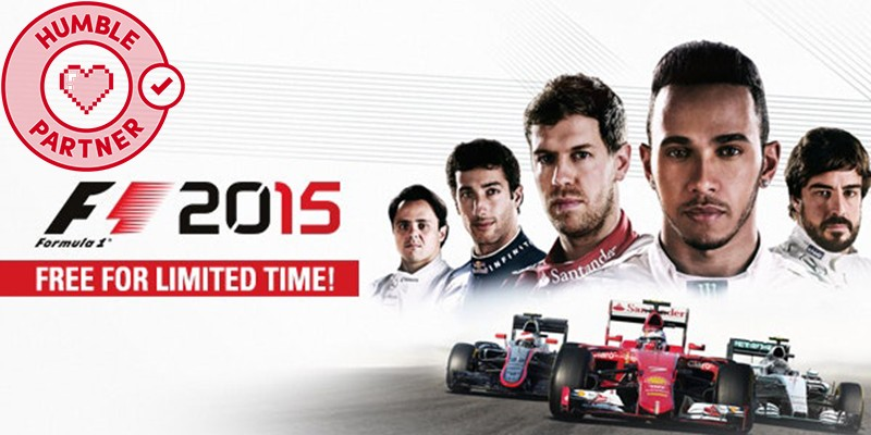F1 Formula 1 2015 Free Humble Steam Key Banner