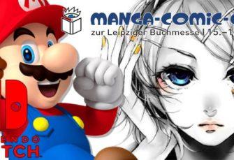 Nintendo Verkaufsrekord und Präsenz auf Manga-Comic-Con