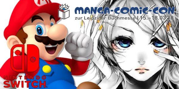 Manga Comic Con Nintendo News Banner