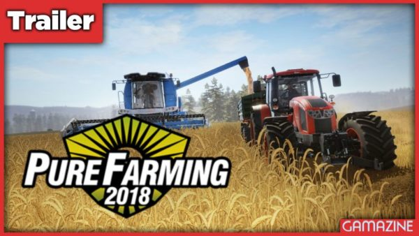 Pure Farming 2018 Trailer Banner