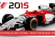 F1 2015 kostenlos bei Steam