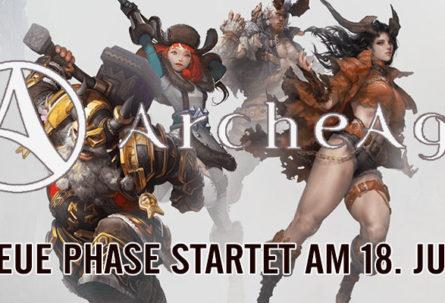 ArcheAge: Rückkehr der Legenden - Update 18. Juli!
