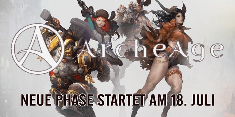 ArcheAge: Rückkehr der Legenden – Update 18. Juli!