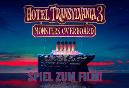 HOTEL TRANSSILVANIEN 3: MONSTER ÜBER BORD - Spiel zum Film!