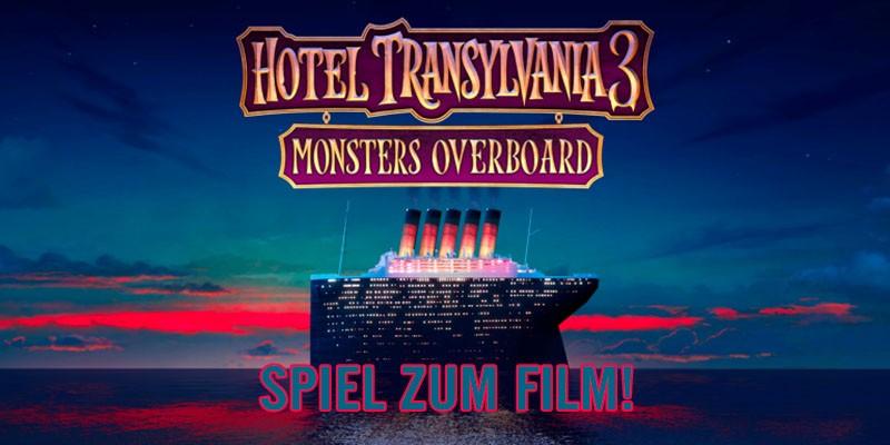 [MULTI] HOTEL TRANSSILVANIEN 3: MONSTER ÜBER BORD – Spiel zum Film!