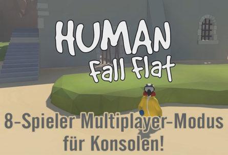 Human Fall Flat bekommt auf Konsolen einen 8-Spieler-Multiplayer-Modus!