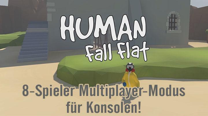 [MULTI] Human Fall Flat bekommt auf Konsolen einen 8-Spieler-Multiplayer-Modus!