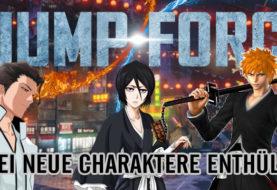 JUMP FORCE - Drei neue Charaktere!