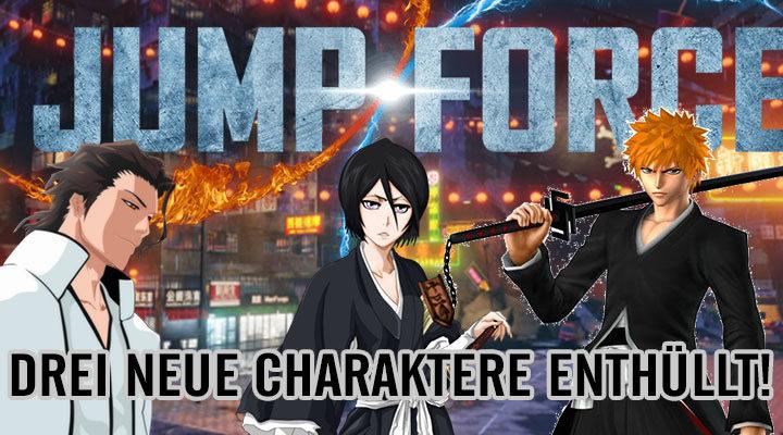 [MULTI] JUMP FORCE – Drei neue Charaktere!