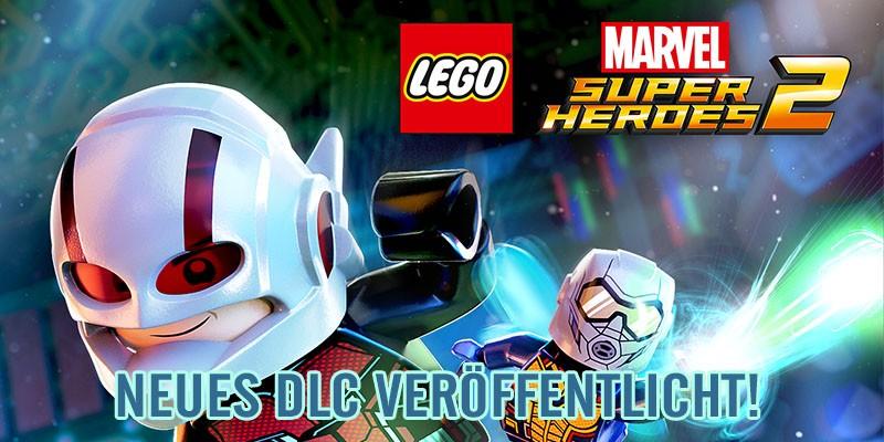 LEGO Marvel Super Heroes 2 – Charakter & Level DLC veröffentlicht!