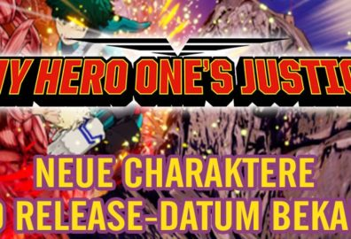 MY HERO ONE´S JUSTICE - Manga Beat em Up Release-Datum bekannt!