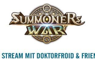 SUMMONERS WAR - Live Stream mit DoktorFroid und Freunden!