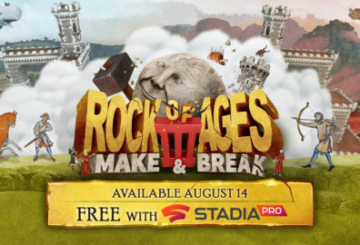 Rock of Ages 3: Make & Break ab heute auf Stadia